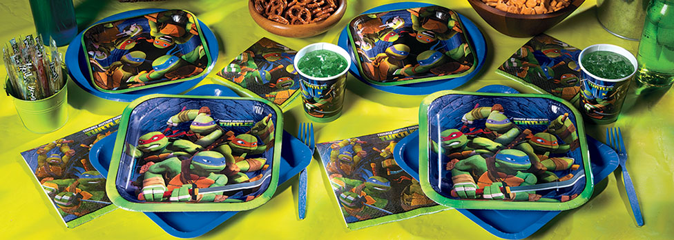 Where to find the best prices for Teenage Mutant Ninja Turtle Party packages!