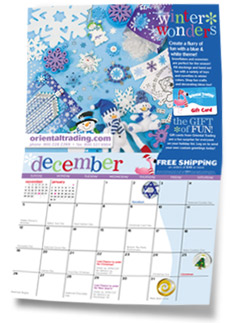 Order your Free 2010 Oriental Trading Calendar while supplies last!